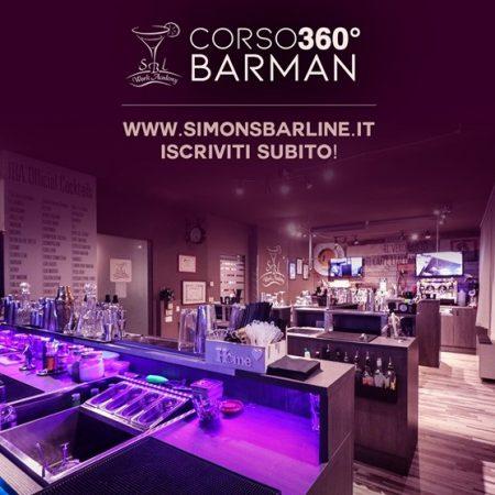 GENNAIO / CORSO BARMAN 360° DURATA 25 h DAL 25 AL 29