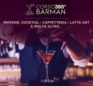 GENNAIO / CORSO BARMAN BASIC 360° DALL' 11 AL 15