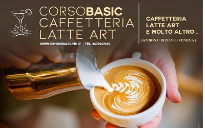 APRILE / CORSO CAFFETTERIA LATTE ART BASIC, DAL 12 AL 14
