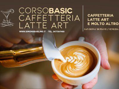MARZO / CORSO CAFFETTERIA LATTE ART BASIC, DAL 22 AL 24
