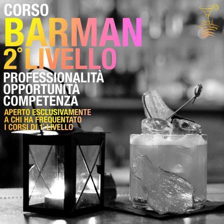 APRILE / CORSO BARMAN II° LIVELLO  DAL 19 AL 23